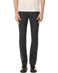 Calvin Klein Collection Gypsum Waxed Jeans