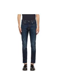 Levis Indigo 512 Slim Taper Flex Jeans