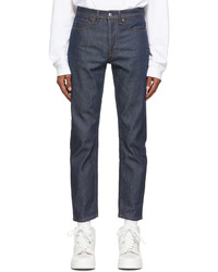 Acne Studios Indigo Denim Slim Tapered Jeans