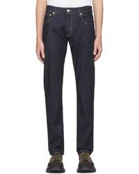 Alexander McQueen Indigo Jeans