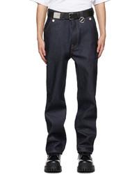 We11done Indigo Mid Carpenter Jeans