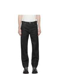 Jil Sander Indigo Rinsed Raw Denim Standard Jeans