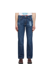 Martine Rose Indigo Straight Leg Jeans