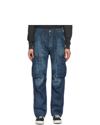 Neighborhood Indigo Washed C Pt Cargo Jeans