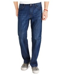 Izod Big And Tall Jeans Relaxed Fit Dark Vintage Jeans