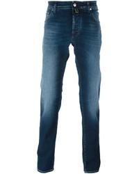 Jacob Cohen Stonewash Straight Leg Jeans