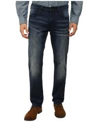 DKNY Jeans Bleecher Knit Jean In Meade Dark Indigo Wash
