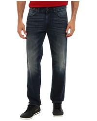 DKNY Jeans Bleecker Jean Otis Tinted In Dark Indigo Wash