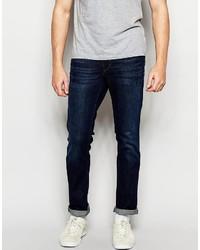 Boss Orange Jeans In Slim Fit Dark Wash