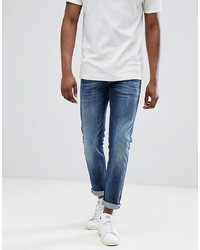 Jack & Jones Jeans In Slim Fit Rinsed Denim Denim