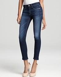 Joe's Jeans Beaven Straight Ankle In Dark Blue