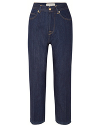 Golden Goose Deluxe Brand Komo Cropped High Rise Straight Leg Jeans