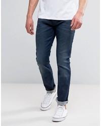Wrangler Larston Slim Stretch Jeans X It Wash