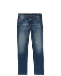 Nudie Jeans Lean Dean Slim Fit Tapered Organic Stretch Denim Jeans