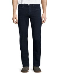 Frame Lhomme Placid Straight Leg Jeans Dark Blue