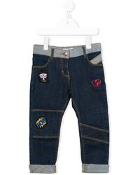 Little Marc Jacobs Patch Jeans