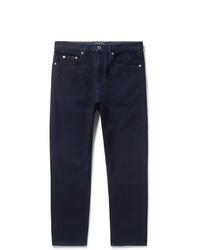 Valentino Logo Print Denim Jeans
