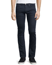Acne Studios Max Blue Speed Slim Fit Denim Jeans Dark Blue