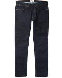 Acne Studios Max Raw Slim Fit Stretch Denim Jeans