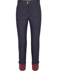 Bottega Veneta Med High Rise Straight Leg Jeans