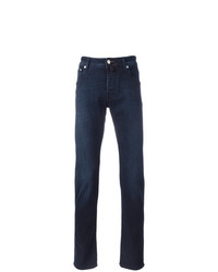 Jacob Cohen Mid Rise Straight Jeans