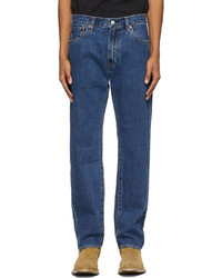 Levi's Navy 551 Z Authentic Straight Jeans