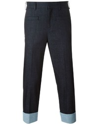 Neil Barrett Cropped Jeans