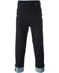 Neil Barrett Turn Up Cuff Jeans