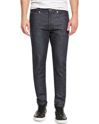 Givenchy New Rico Slim Fit Denim Jeans Blue