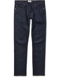 Nn07 Three Slim Fit Raw Denim Jeans