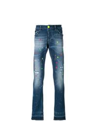 Philipp Plein Paint Me Jeans