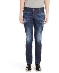 DSQUARED2 Paint Splatter Slim Jeans