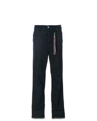 Mira Mikati Rainbow Hem Straight Jeans