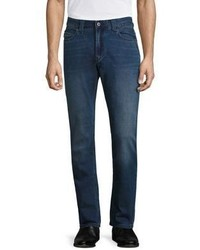 Armani Collezioni Regular Fit Cotton Jeans