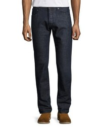 Etro Regular Fit Straight Leg Jeans Blue