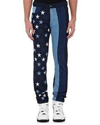 Givenchy Signature Star Jeans Blue