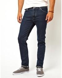 Asos Skinny Jean In Dark Blue