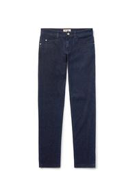Loro Piana Slim Fit Cotton And Cashmere Blend Denim Jeans