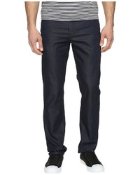 Perry Ellis Slim Fit Dark Indigo Denim In Medium Indigo Jeans