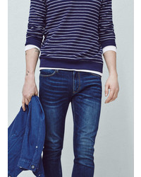 Mango Outlet Slim Fit Dark Wash Patrick Jeans