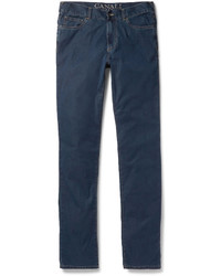 Canali Slim Fit Denim Jeans