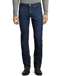 Tom Ford Slim Fit Denim Jeans Worn Blue