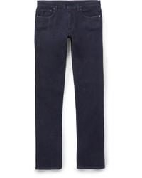 Ermenegildo Zegna Slim Fit Gart Washed Stretch Denim Jeans