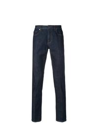 Z Zegna Slim Fit Logo Jeans