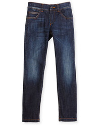 Fendi Slim Fit Monster Pocket Jeans Blue Size 6 8