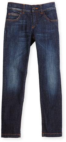 Fendi Slim Fit Monster Pocket Jeans Blue Size 6 8