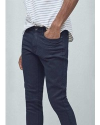 Mango Outlet Slim Fit Navy Patrick Jeans