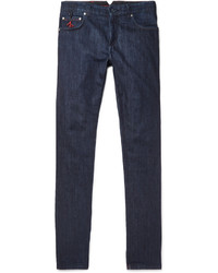Isaia Slim Fit Selvedge Stretch Denim Jeans