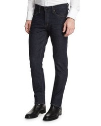 Tom Ford Slim Fit Stretch Denim Jeans Indigo
