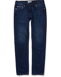 Officine Generale Slim Fit Washed Denim Jeans